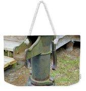 Hand Water Pump Weekender Tote Bag