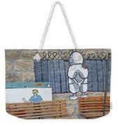 Handala And The Wall Weekender Tote Bag