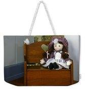 Handmade Cloth Doll Weekender Tote Bag