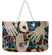 Hands And Eyes Weekender Tote Bag
