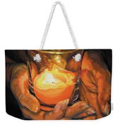 Hands By Candlelight Weekender Tote Bag
