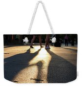 Hands In Sunset Weekender Tote Bag