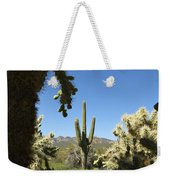 Hands Up You're Surrounded Weekender Tote Bag