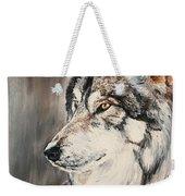 Handsome Wolf Weekender Tote Bag