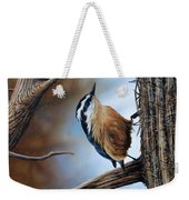 Hangin Out - Nuthatch Weekender Tote Bag