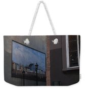 Hanging Art In N Y C  Weekender Tote Bag