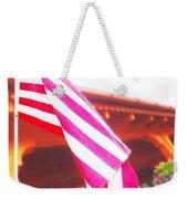 Hanging Beauty 3 Weekender Tote Bag