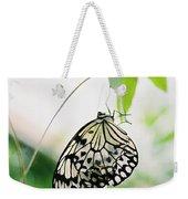 Hanging Butterfly Weekender Tote Bag