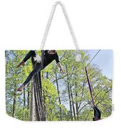 Hanging By A Thread Weekender Tote Bag