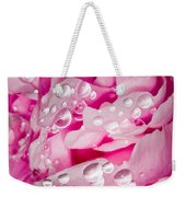 Hanging Droplets Weekender Tote Bag