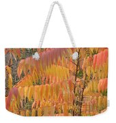 Hanging Fire Weekender Tote Bag