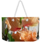Hanging Hibiscus Weekender Tote Bag