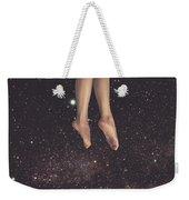 Hanging In Space Weekender Tote Bag