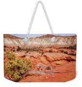 Hanging On The Cliff At Kodachrome Basin State Park Weekender Tote Bag