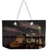 Hanging Onto A Cloud John Hancock Tower Boston Ma Weekender Tote Bag