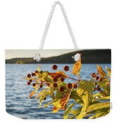 Hanging Out At The Lake Weekender Tote Bag