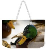 Hanging Out On The Ice Weekender Tote Bag