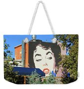 Hanging Out With Elizabeth Taylor Weekender Tote Bag