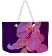 Hanging Purple Weekender Tote Bag