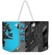 Hanks Oyster Bar Weekender Tote Bag