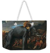 Hannibal Crossing The Alps On Elephants By Nicolas Poussin, 1625-1626. Weekender Tote Bag