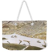 Hannibal, Missouri, 1869 Weekender Tote Bag