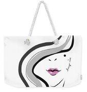 Hanyidesigns Beautiful Girl Weekender Tote Bag