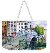 Ha'penny Bridge Dublin Weekender Tote Bag