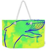 Happier Humpback 1 Weekender Tote Bag