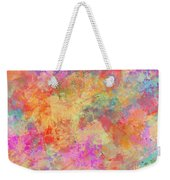 Happiness Abstract Painting Weekender Tote Bag