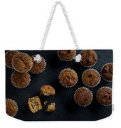 Happiness Is Only A Cupcake Away Weekender Tote Bag