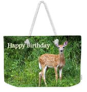 Happy Birthday 1 Weekender Tote Bag