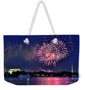 Happy Birthday America # 2 Weekender Tote Bag