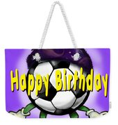 Happy Birthday Soccer Wizard Weekender Tote Bag