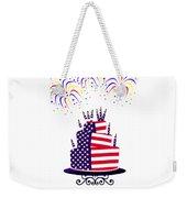 Happy Birthday Usa Weekender Tote Bag