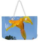 Happy Canna Weekender Tote Bag