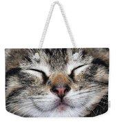 Happy Cat Weekender Tote Bag