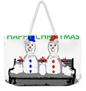 Happy Christmas 116 Weekender Tote Bag
