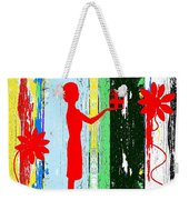 Happy Christmas 14 Weekender Tote Bag