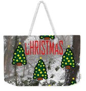 Happy Christmas 22 Weekender Tote Bag