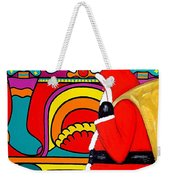 Happy Christmas 30 Weekender Tote Bag