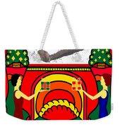 Happy Christmas 32 Weekender Tote Bag