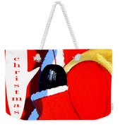 Happy Christmas 15 Weekender Tote Bag