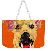 Happy Dog Weekender Tote Bag