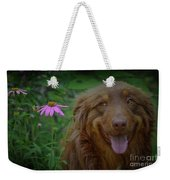 Happy Dog Days Weekender Tote Bag