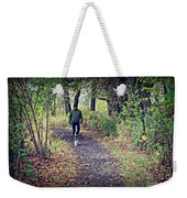 Happy Dog Weekender Tote Bag