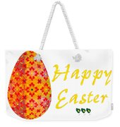 Happy Easter Abstract Greeting Card Art By Omaste Witkowski  Weekender Tote Bag