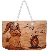 Happy Easter Coffee Painting Weekender Tote Bag