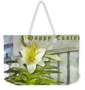 Happy Easter Lily Weekender Tote Bag