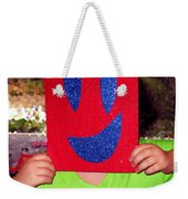 Happy Face Weekender Tote Bag